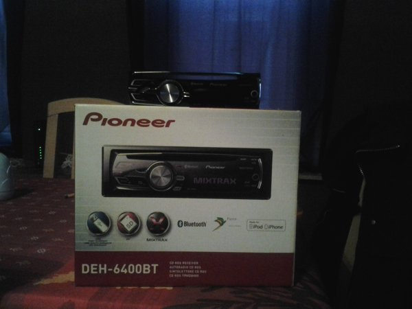 Pioneer DEH-6400BT Model 2012 CAR-TRONIC