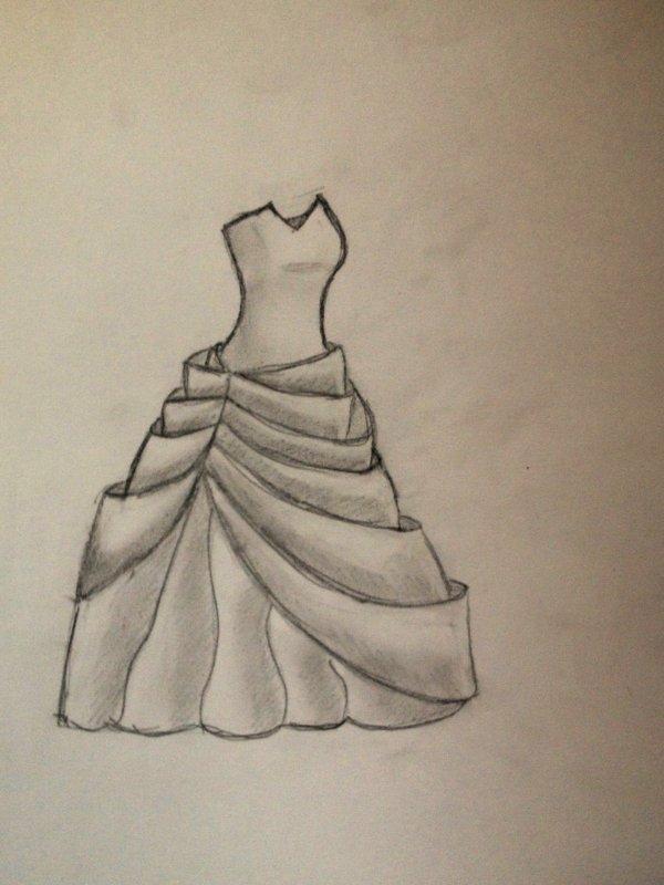Dessin Robe de Mariée