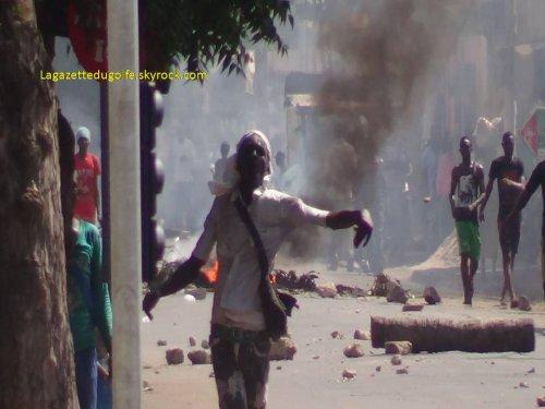 Interdiction des manifestations de l'opposition togolaises: Les jeunes militants descendent et s'insurgent contre les autorités togolaises