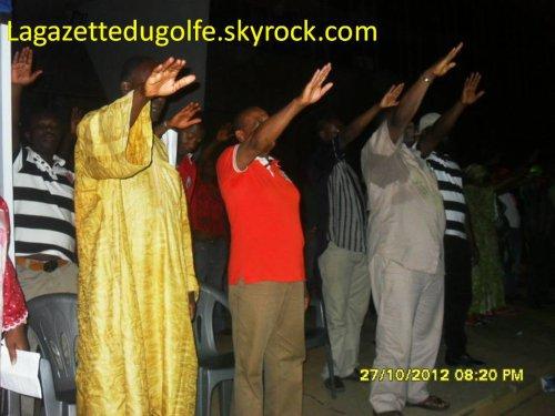 Querelles stériles entre acteurs politiques de l'opposition togolaise:  A quoi a donc servi la prestation de serment du 27 octobre 2012 devant le monument de l'indépendance ?