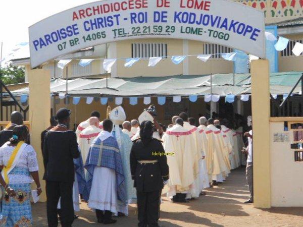 Ouverture de l'année jubilaire de l'érection de la paroisse Christ-Roi de Kodjoviakopé: Sous le signe de l'envoi en mission