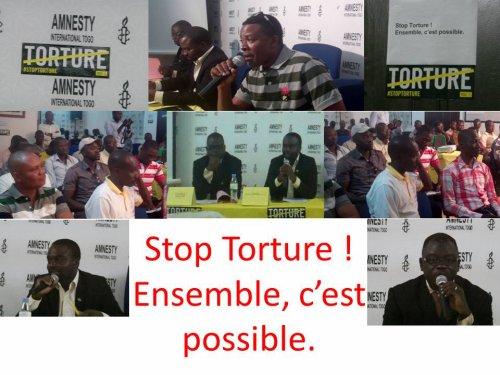 Amnesty International Togo a commémoré la journée internationale de la lutte contre la torture: D'émouvants témoignages faits par les victimes de l'ASVITO