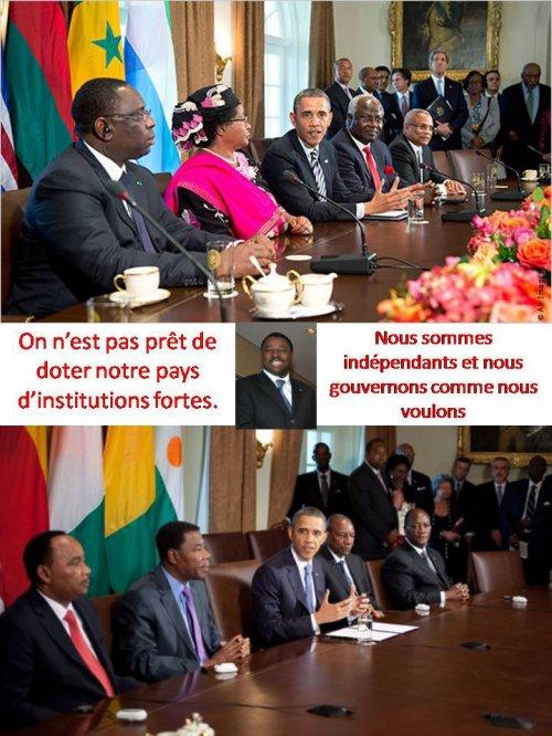 Sommet des chefs d'Etat d'Afrique aux Etats-Unis: Quelles retombées significatives pour le peuple togolais représenté par un allergique à l'alternance ?
