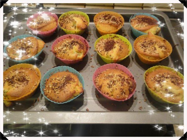 Cupcakes au kiwi