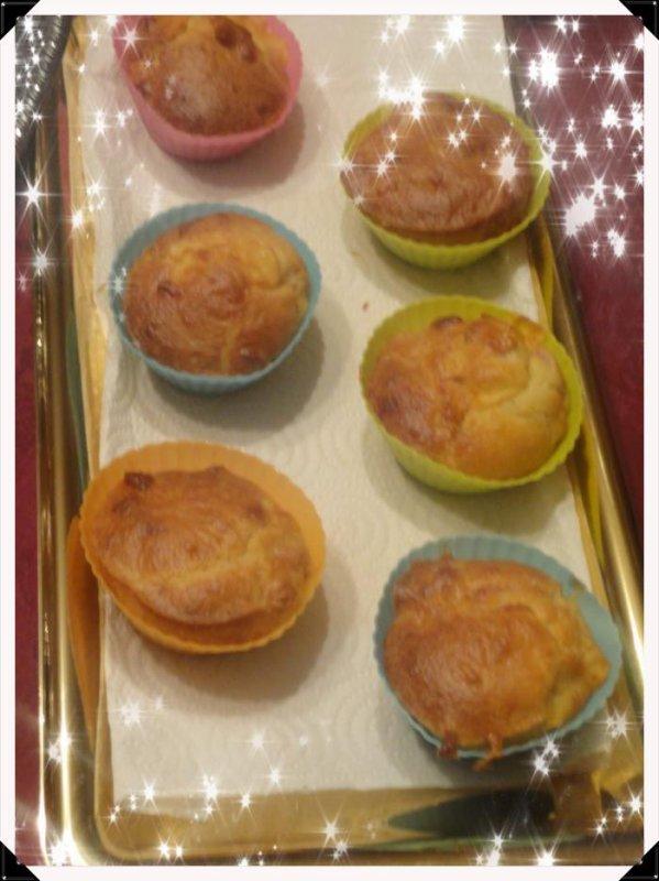 Cakes salés Lardons/Gouda
