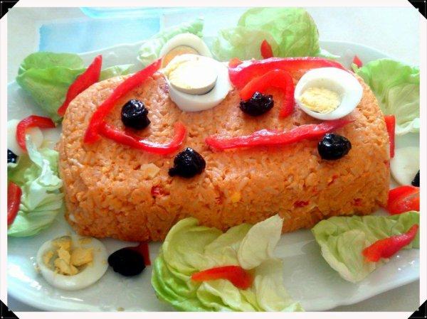 Mon pain de saumon
