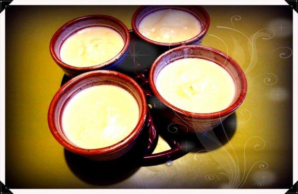 Mes crèmes à la vanille