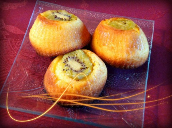 Minis Cakes au Kiwi