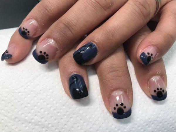 Remplissage nail art