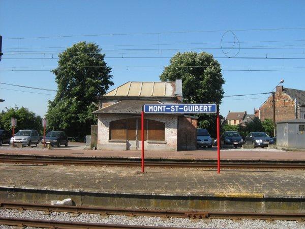 MONT-SAINT-GUIBERT LA GARE EN 2008