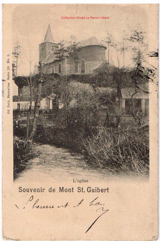 Carte de l'Eglise et de l'Orne en 1900