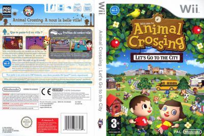 Animal crossing blog de jaquette jeux wii - Coupe animal crossing wii ...