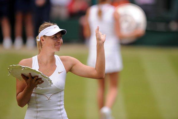 I'm not the next anyone, I'm the first Maria Sharapova
