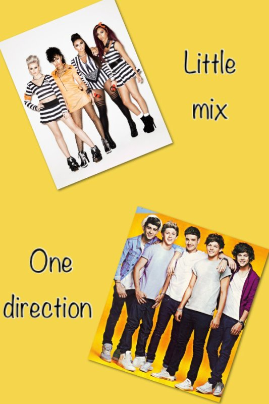 Little mix one direction
