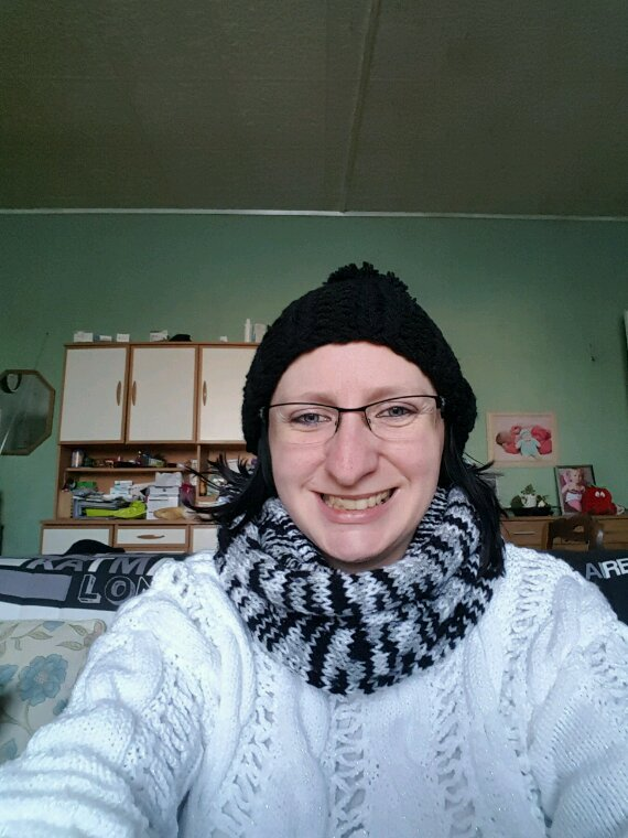 SNOOD (tour de cou) bonnet Pom Pom Pom