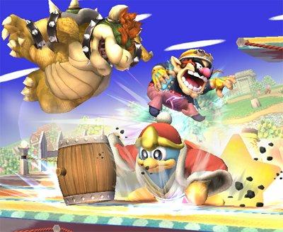 Les personnages dans Kirby