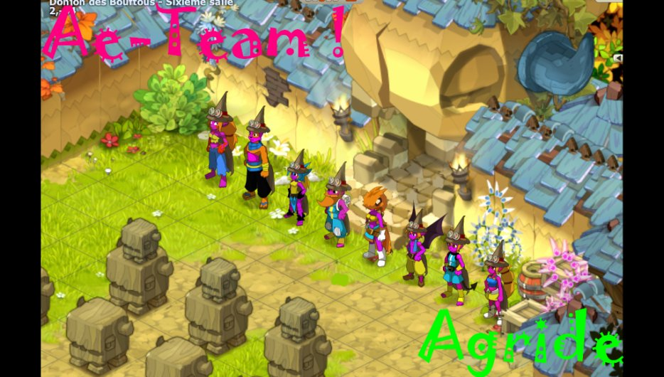 """Les Aventures de la Team """"Ae"""" du serveur Agride."""