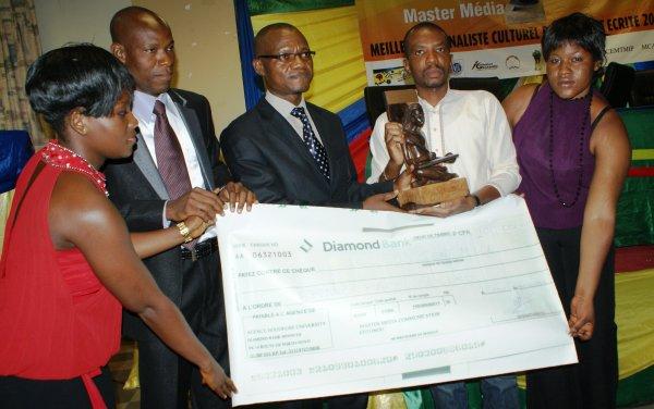 Prix  Master média, 1ère édition : Franck Raoul Pedro sacré meilleur journaliste culturel 2011 au Bénin