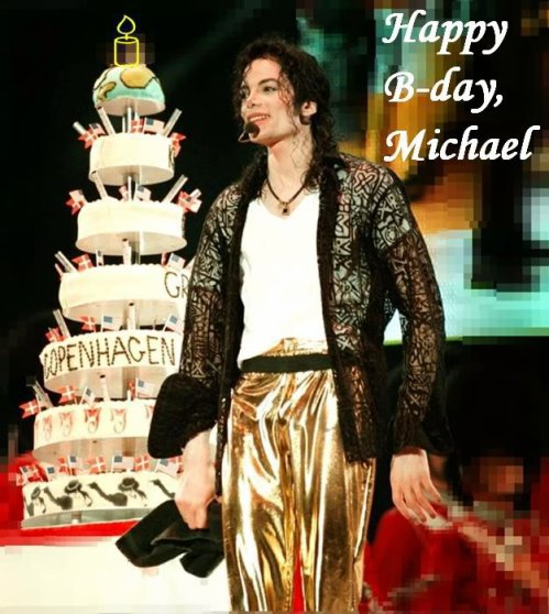 Happy Birthday Michael !