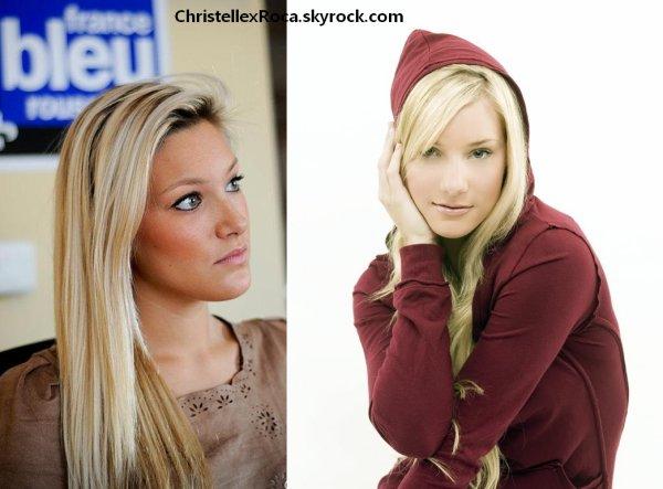 Christelle Roca & Heather Morris : Un petit air de ressemblance.