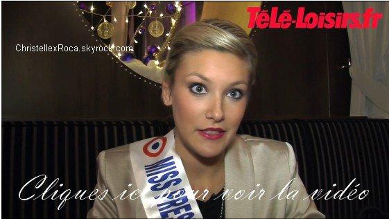 Interview de Christelle Roca sur Tele-loisirs.fr