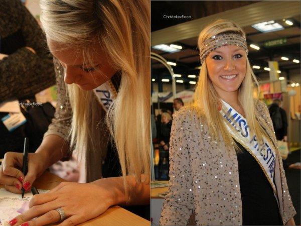 04.02.2012 | Christelle était au Salon du Tourisme à Toulouse au côté des Miss du Sud (dont Miss Albigeois-Midi Pyrénées 2011, Laetitia Tolfo)