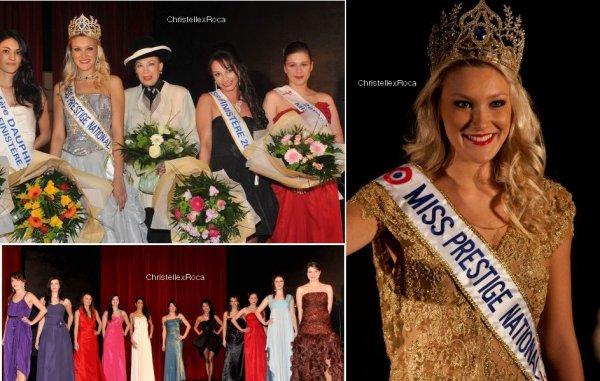 02.03.12 → Christelle était à l'élection de Miss Finistère Prestige National 2012 à Plouescat.