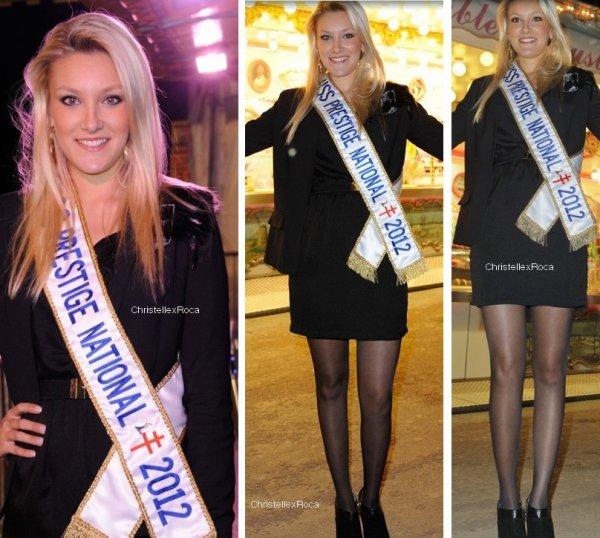 06.04.12 → Christelle était à la foire du Trône à Paris organisée au profit de l'association 'Les enfants de la Terre'.
