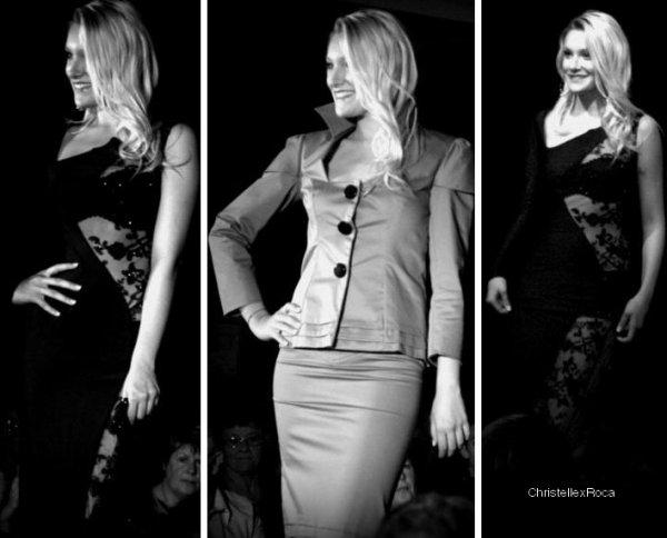 Date inconnue → Christelle était à un défilé la veille de Miss de la Mayenne 2012.