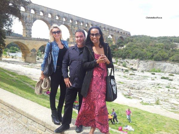 Photos personnelles de Christelle lors de son séjour à Nîmes.