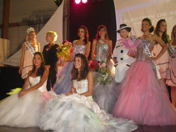 Fin juin 2012 → Christelle était à l'élection de Miss Pays d'Aix (Mélissa Barbier).
