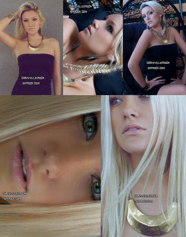 De nouvelles photos de son photoshoot avec Miloue Photographie sont sorties. Christelle est vraiment photogénique.