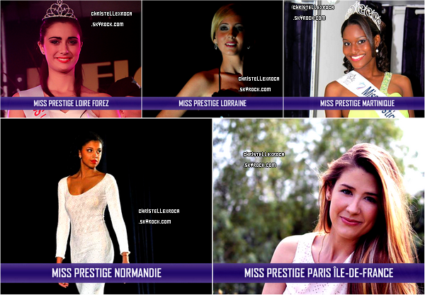 Election Miss Prestige National 2014. Qui succédera à Auline Grac, Miss Prestige National 2013 ?