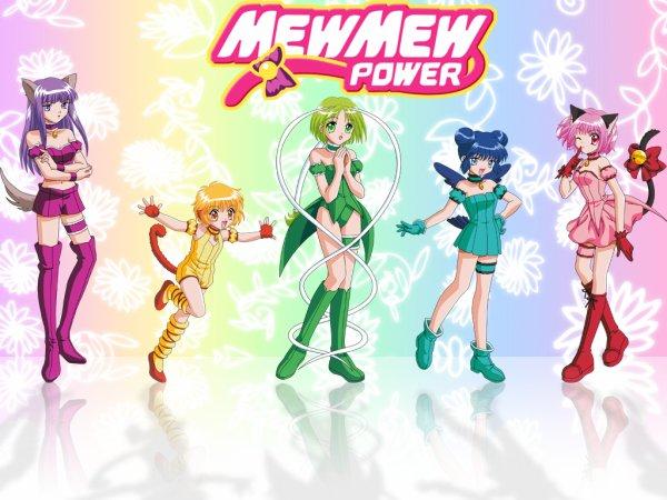 mew mew power et tokyo mew mew a la mode