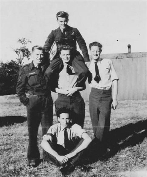 L'équipage du Lancaster tombé à Ugny sur Meuse