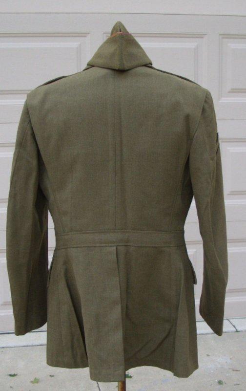 "Coat Wool Serge od 18-oz ""Veste 4 poches"""
