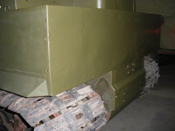 Restauration de l'arrière de la caisse