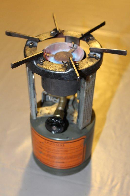 """Réchaud Coleman modèle 520 """"military"""" de 1944 2/2 """"nettoyage"""""""