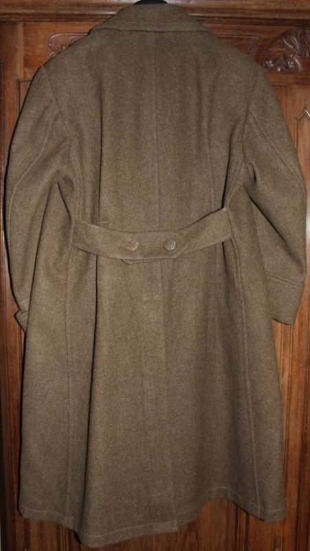 Capote troupe 2ème modèle (Overcoats, Wool, Roll Collar)