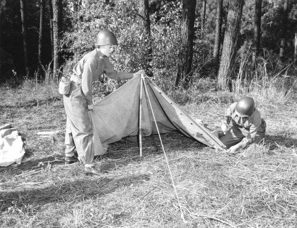 Tente US de 1942