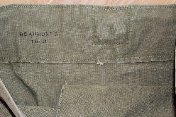 Sac à paquetage de 1943 (Bag duffel)