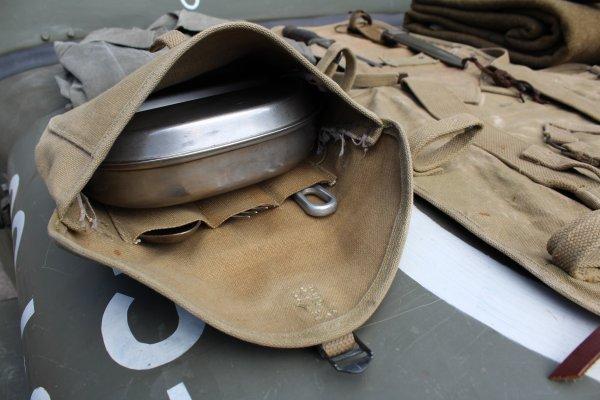 Montage du haversack M-1928 en ordre de marche
