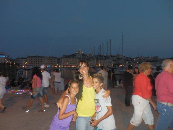 feu d'artifice vieux port 2013