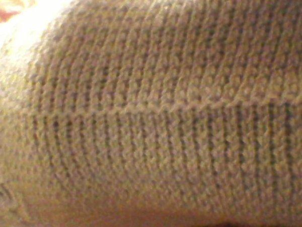 un petit pull sens couture