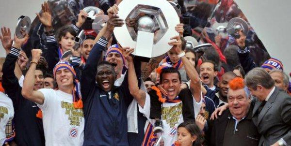 Montpellier champions de France 2012